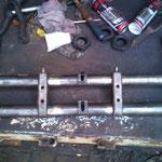 Der VVA Bausatz, nu gehts zum Ausmessen und ausrichten in die Werkstatt