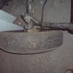 Die Reifen haben es aber hinter sich ;-)