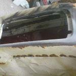Handschuhfach fertig umgeschweißt
