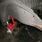 Der Gammel an der Radnabe kommt noch weg, wird dann mit klarlack zudem konserviert