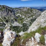 маршрут на Савин Кук, долина Velika kalica, гора Međed