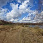 Измайловский парк, Лебедянскй пруд, апрель