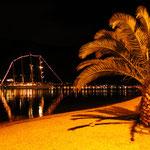 Ночь на городском пляже Котора