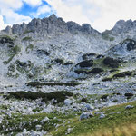 Вид на Lučin vrh (Лючин врх) и Minin Bogaz (2387м) из долины