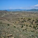 Вид с г.Кучук-Ташчи, долина Капсель-Бугас