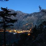 Вечерний Котор - с тропы Франко-Иосифа