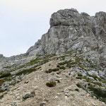 гора Боботов Кук (2523 м), вид с перевал Velika Previja (2351м)