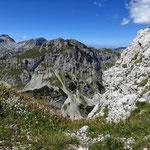 маршрут на Савин Кук, вид на гору Međed (Меджед)