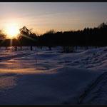 Холодный закат