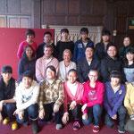中国の天津からの高校生グループ