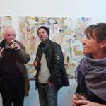 separate together, während Vernissage, Herzlichen Dank an Antonia Wemer für das Foto