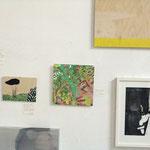 """""""favorites in FAVORITEN"""" - Ausstellungsansicht, von oben nach unten: Heike Schäfer, Desislava Unger, Verena Rempel, Eva Hradil, Maria Hanl"""
