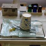 ②治療に使用する器具・器材