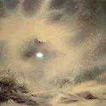 """""""Clair-obscur"""", aquarelle réalisée par Samantha Arnauts en 2006"""