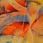 """""""Seuil"""", aquarelle réalisée par Samantha Arnauts en 2011"""