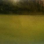 luz de otoño - acuarela sobre papel encolado en tabla - 150X60 cm
