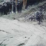 nieve VII - acuarela 18X25cm