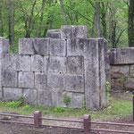 橋野鉄鉱山・高炉跡