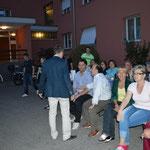 Via San Jorio con Bruno Buzzini e Giuseppe Cotti