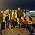 На Дворцовой набережной в белые ночи Питера