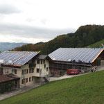 Haus und Gaden mit Solarbedachung 2009