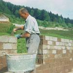 Baumeister Josef Pfyl-vonRickenbach am Werk.