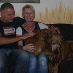 Jala lebt jetzt bei Gisela und Armin