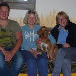 Manyara lebt jetzt bei Beate, Johanna und Daniel.