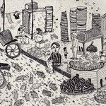 14章「カンボジアの市場」