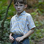 Young actor James Wilson as Simon, in Gone Fishing.