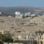 Jerash (Jordania) miasto z IV w p.n.e.