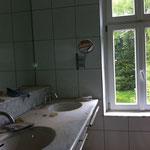 Waschbecken vorher