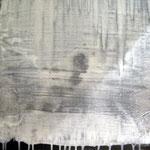 Durchsicht  60cm x 60cm    Beton I Pigmente I Acryl auf Leinwand