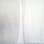 Schattendünen  80cm x 100cm   Beton I Pigmente I Acryl auf Leinwand
