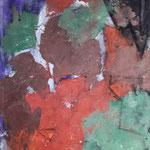 Verschlüsselt 100 cm x 80 cm Beton I Pigmente I Acryl auf Leinwand