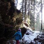 Wetzsteinbruch am Hiftenberg
