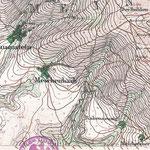 Eingefrorene Kulturlandschaft - Preußisches Urmesstischblatt