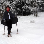 Trappertour mit Schneeschuhen