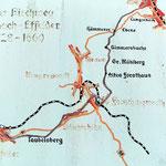 Karte in Steinach