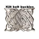 Kilt belt buckles