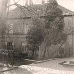 Rückansicht des Dorfgemeinschafthauses