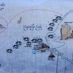 Wanderplan Vingerklip Lodge, Namibia