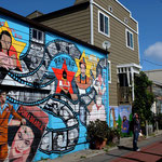 Balmy St Murals in Mission