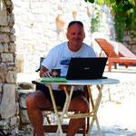 Zeit zum Schreiben: Urlaub in Koroni/ Griechenland