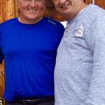 Mit Bundespräsident Frank-Walter Steinmeier auf einer Südtiroler Alm