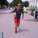 Bergmarathon Ziel