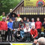 Grintovec Berglauf Siegerehrung