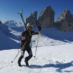 3 Zinnen Skitourenmarathon Sexten Südtirol