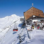 Ziel des Ötzi- Alpin Marathons