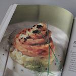 Rosaces de saumon sur fenouil à la crème